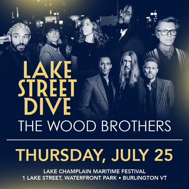 Lake Street Dive & The Wood Brothers at The Pavilion at Ravinia