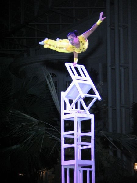 The Stars of The Peking Acrobats at The Pavilion at Ravinia