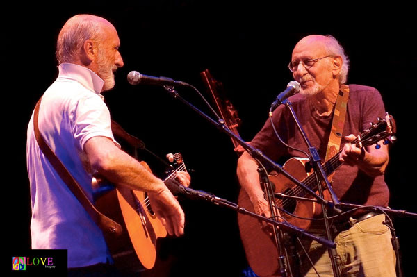 Peter Yarrow & Noel Paul Stookey at The Pavilion at Ravinia