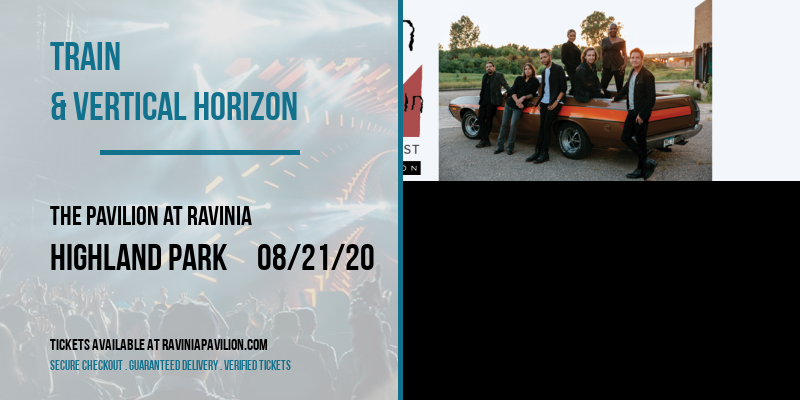 Train & Vertical Horizon at The Pavilion at Ravinia