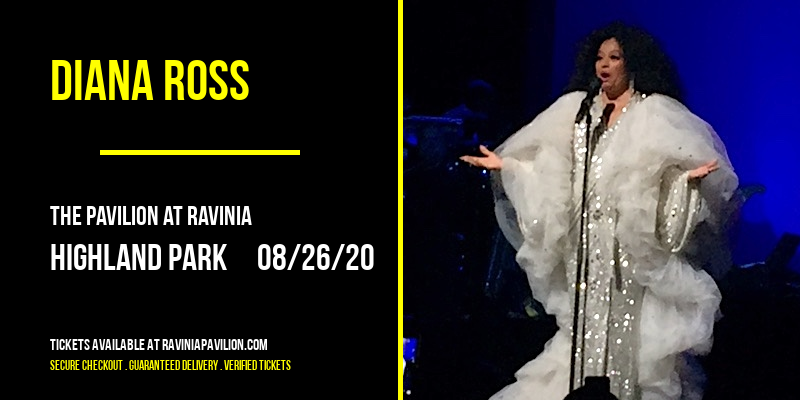Diana Ross at The Pavilion at Ravinia