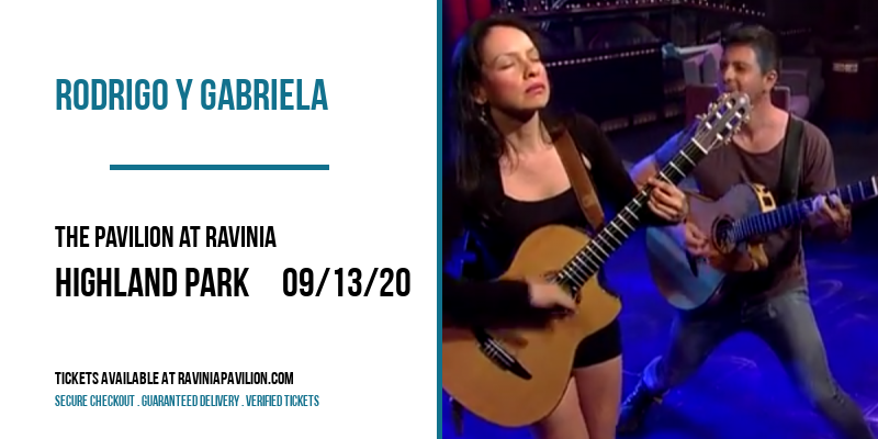 Rodrigo Y Gabriela at The Pavilion at Ravinia