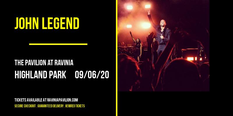 John Legend at The Pavilion at Ravinia