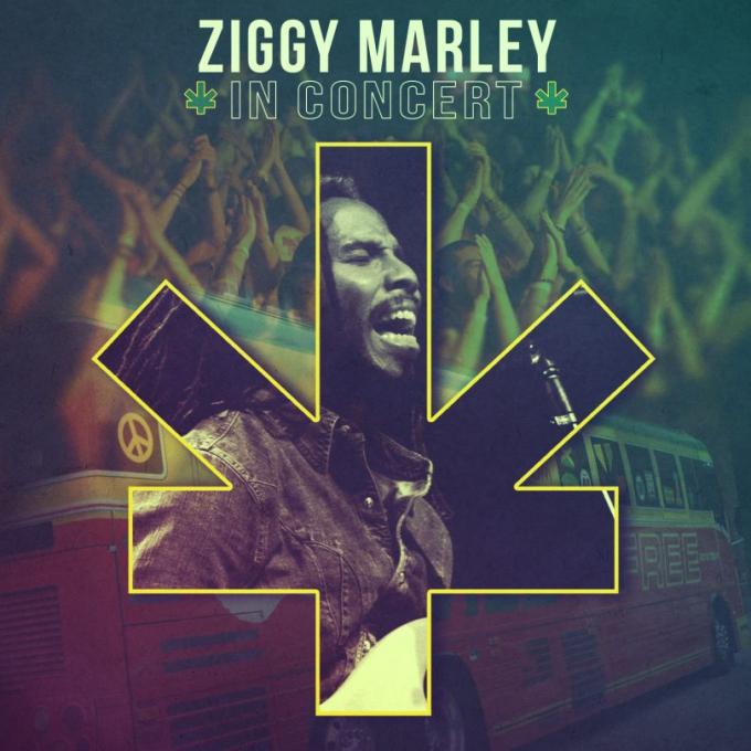 Ziggy Marley at The Pavilion at Ravinia