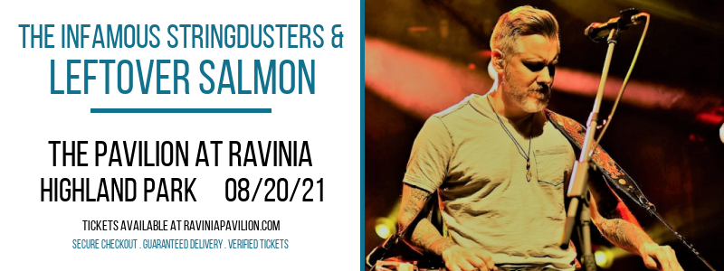 The Infamous Stringdusters & Leftover Salmon at The Pavilion at Ravinia