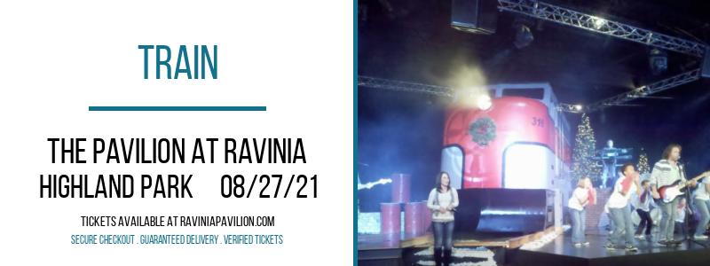 Train at The Pavilion at Ravinia