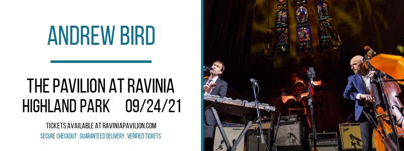 Andrew Bird at The Pavilion at Ravinia