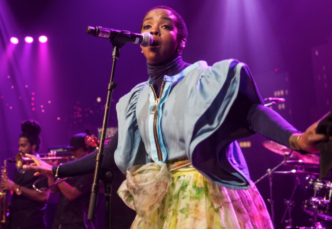 Lauryn Hill at The Pavilion at Ravinia